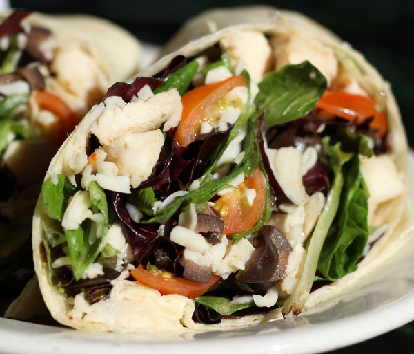 Fresh & Delicious Italian Wraps from One Guy From Italy.
